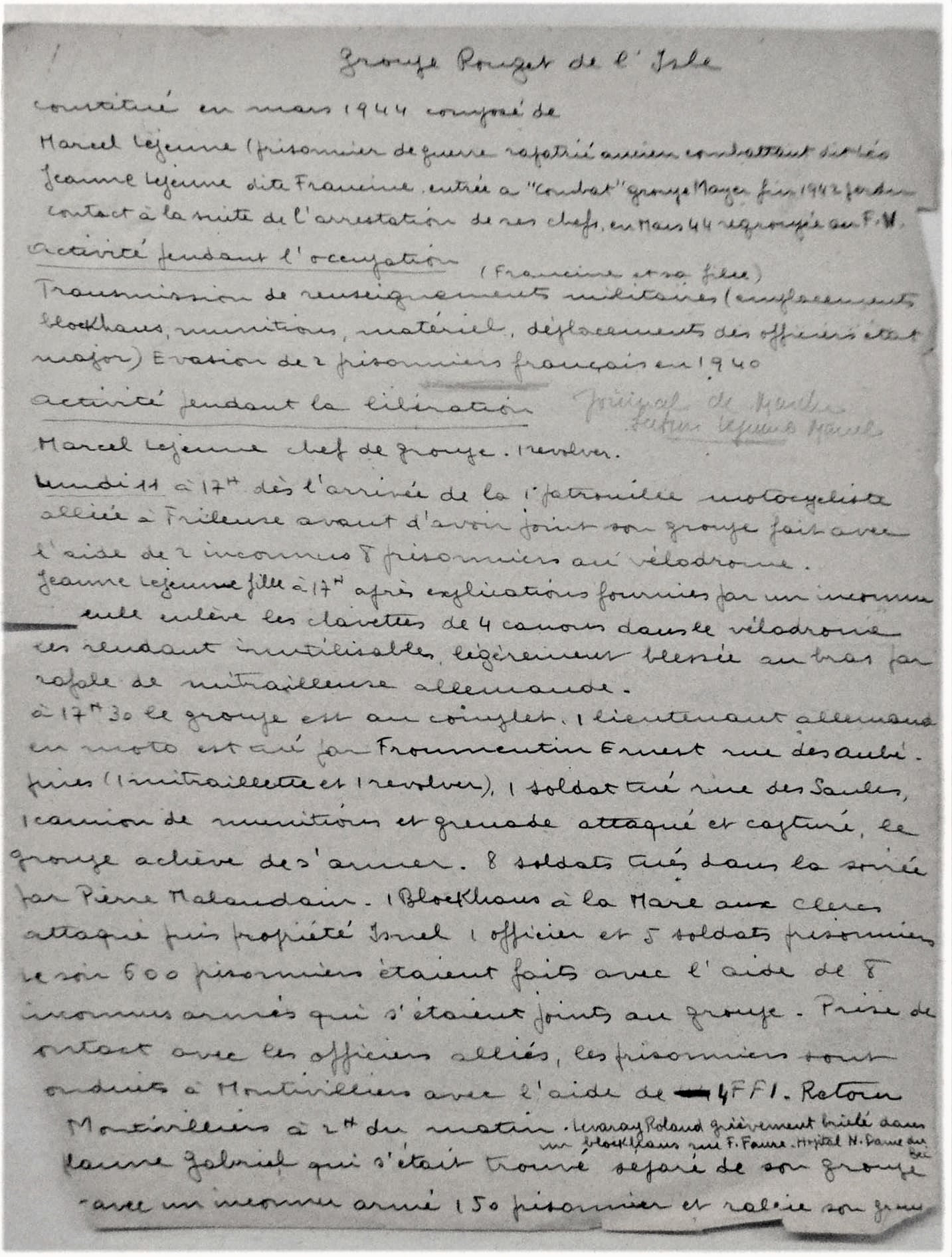 Photothèque / Documents annexes